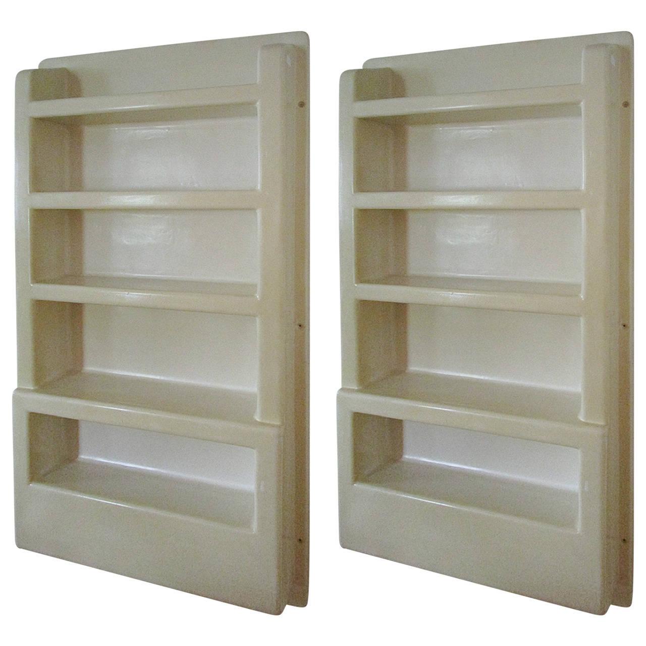 wall mounted plastic shelves photo - 3
