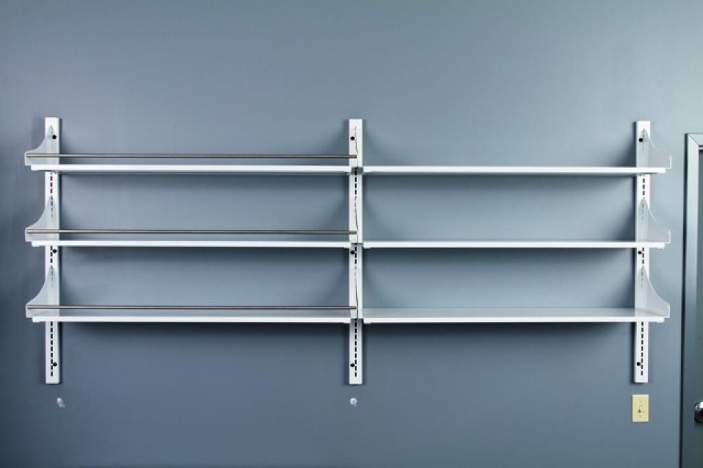 wall mounted plastic shelves photo - 6
