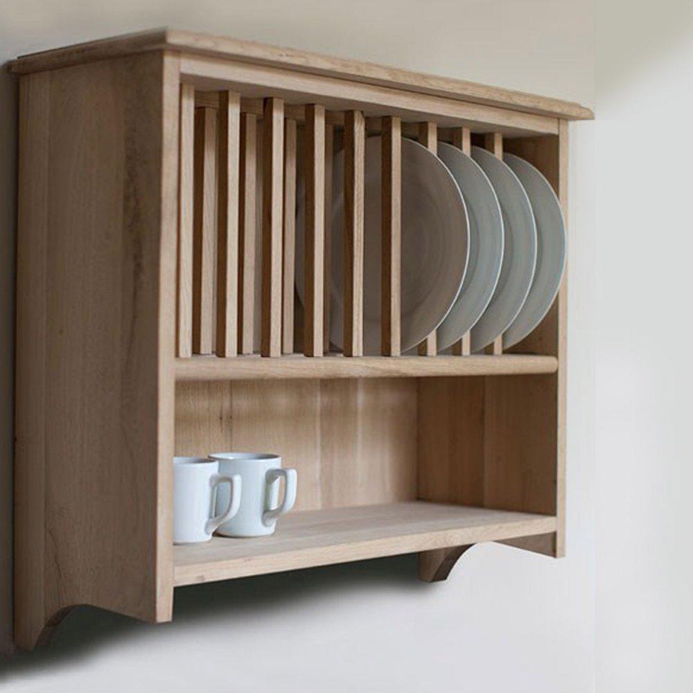 wall mounted plate shelves photo - 8