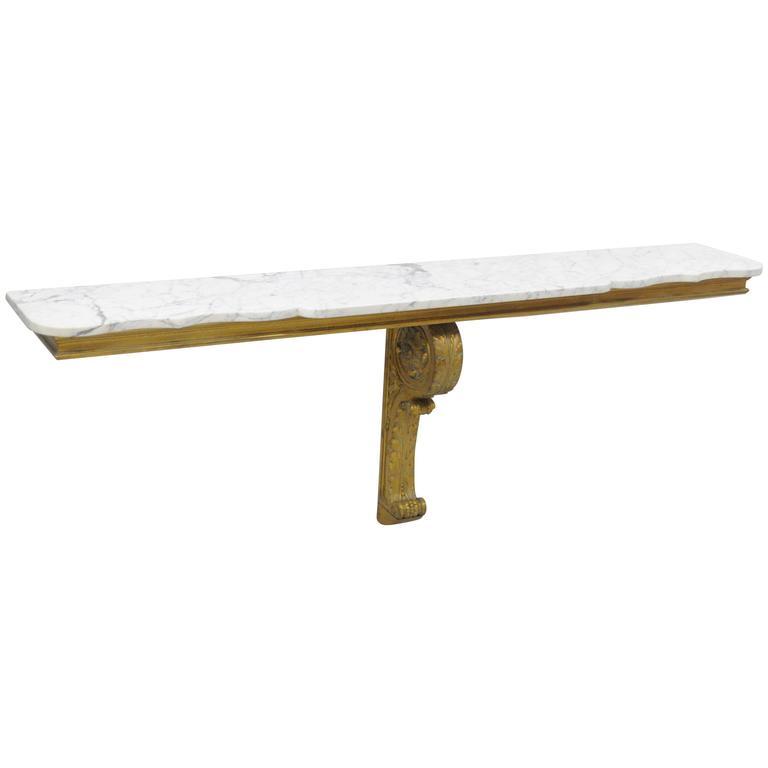 wall mounted shelf table photo - 6