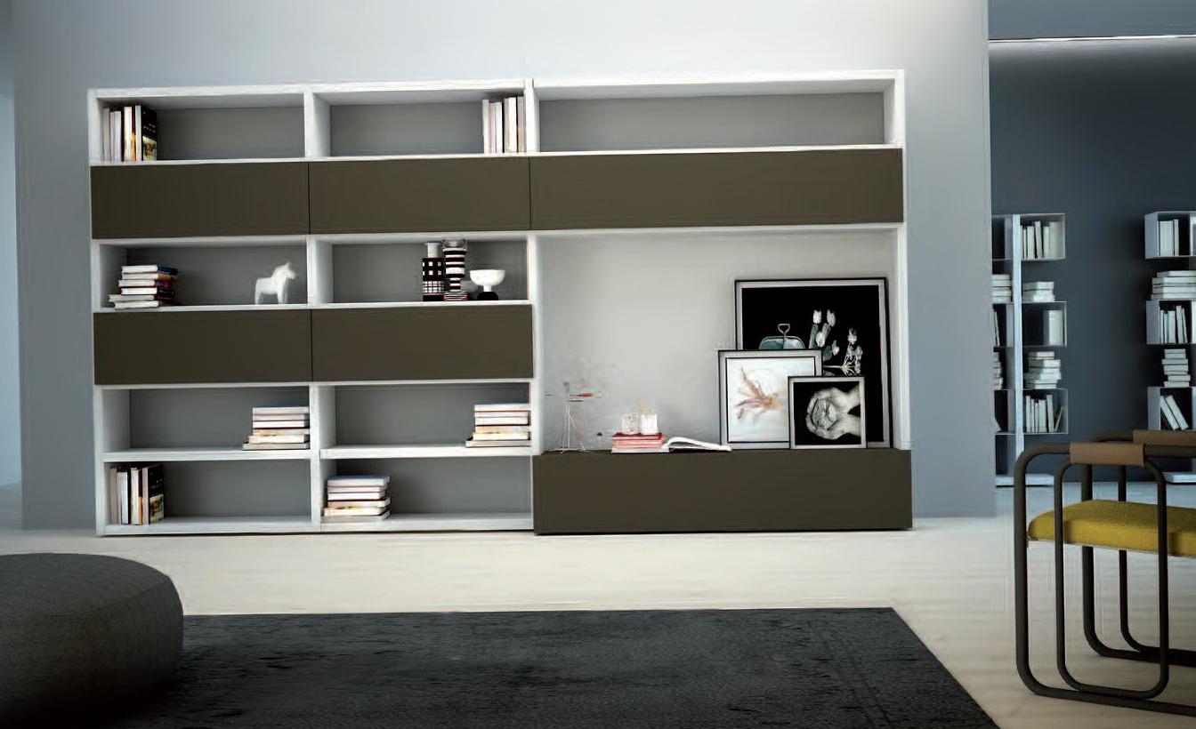 wall mounted shelves bedroom photo - 3