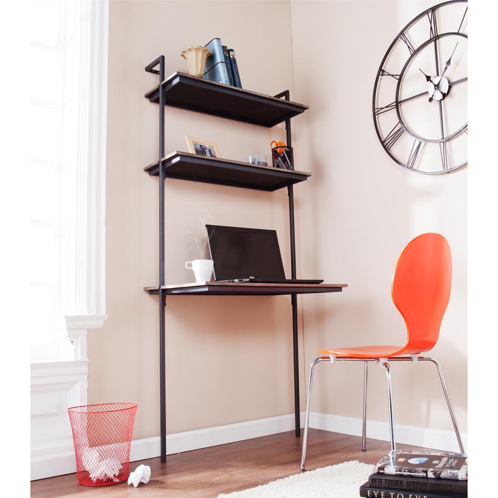 Wall Mounted Shelves Desk Photo 3