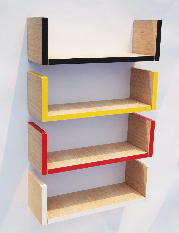 wall mounted shelves diy photo - 10