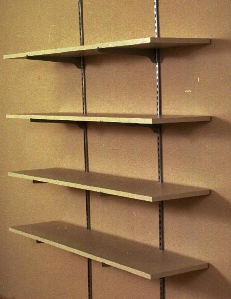 wall mounted shelves diy photo - 2