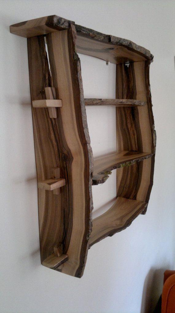 wall mounted shelves diy photo - 4