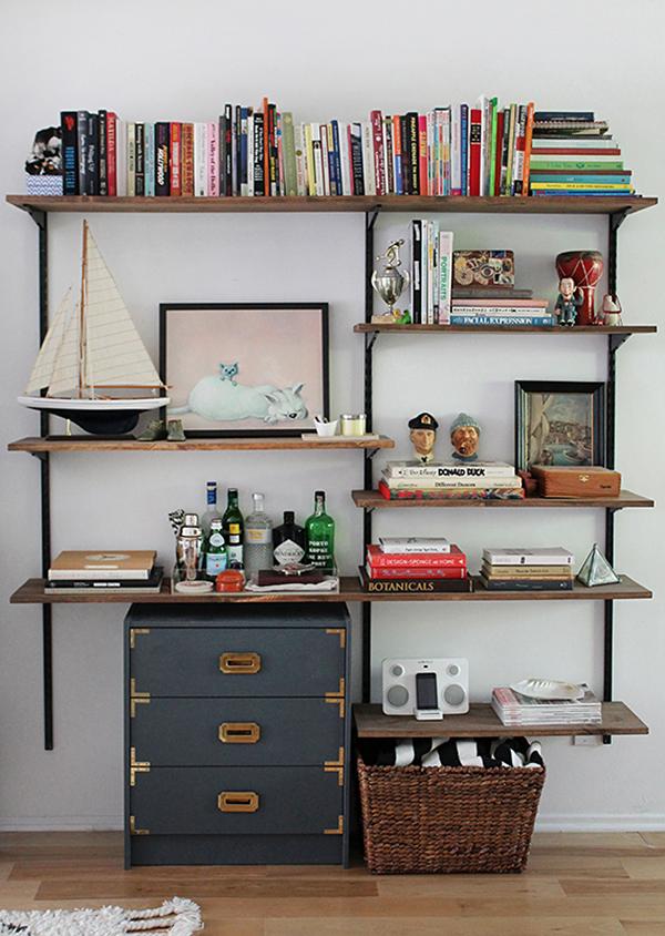 wall mounted shelves diy photo - 6