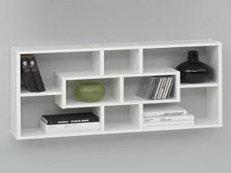 wall mounted shelves for books photo - 6