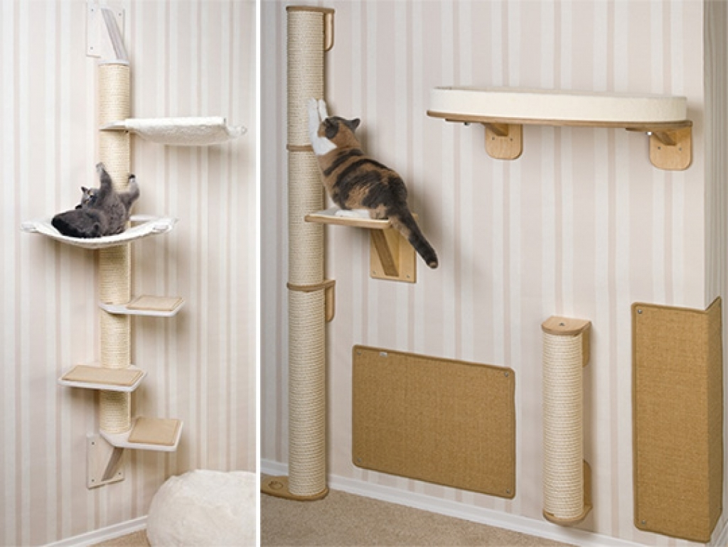 wall mounted shelves for cats photo - 9