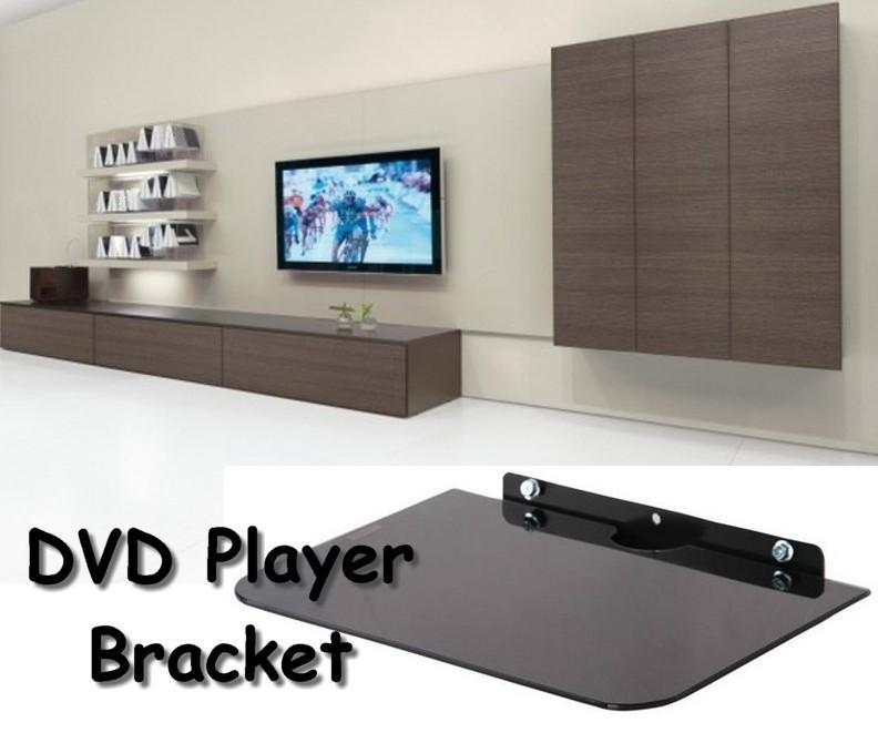 wall mounted shelves for dvd player photo - 3