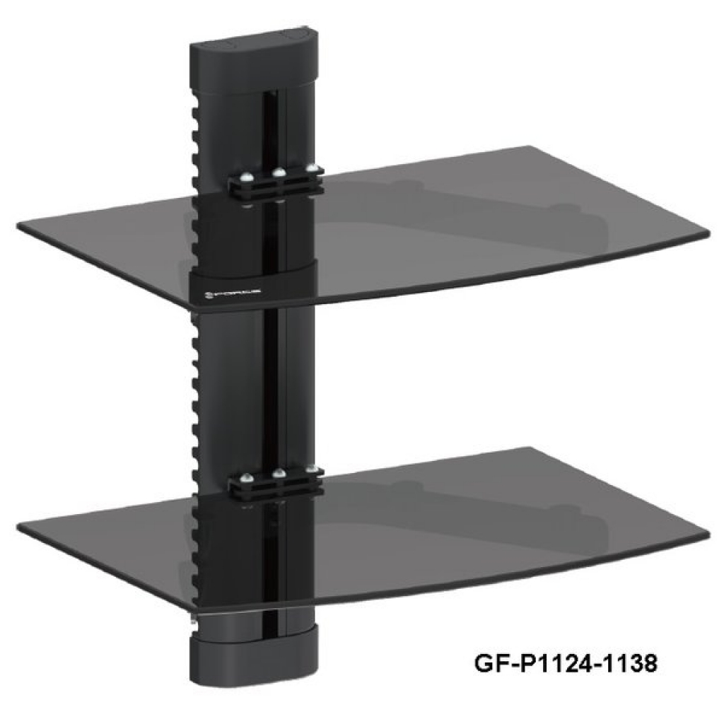wall mounted shelves for dvd player photo - 4