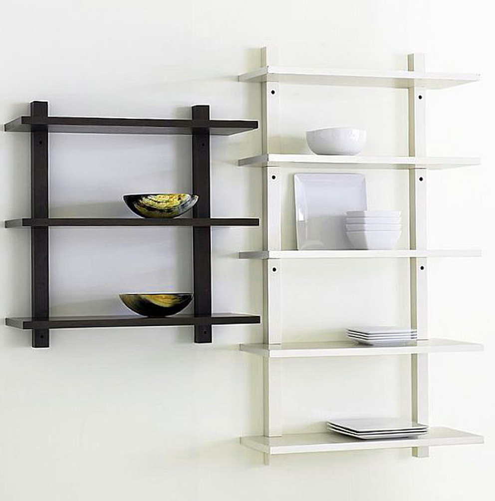 Wall Mounted Shelves For Kitchen Photo 1
