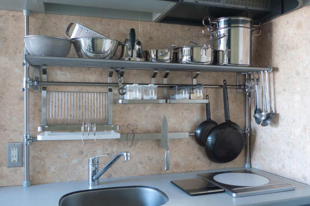 wall mounted shelves for kitchen photo - 10
