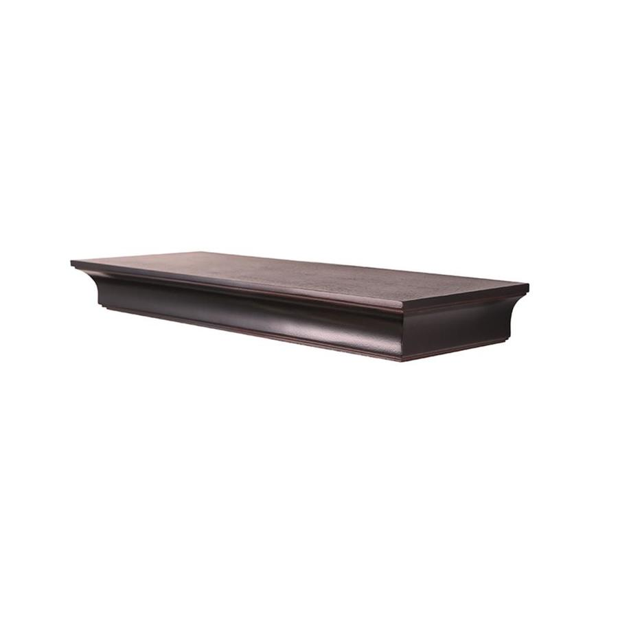 wall mounted shelves lowes photo - 3