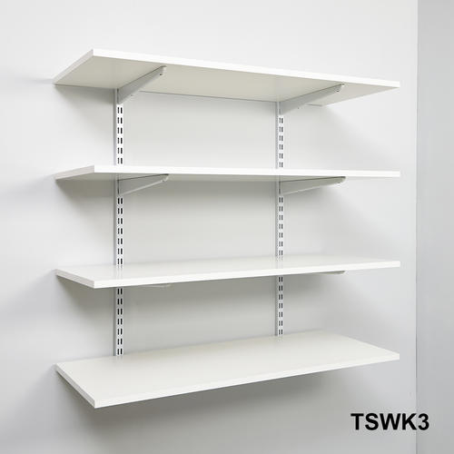 wall mounted shelving kits photo - 8