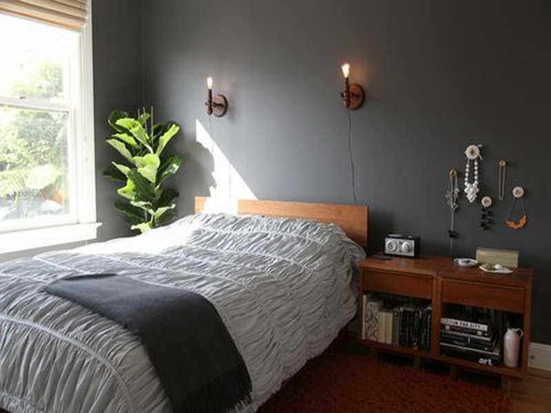 wall paint color small room photo - 4