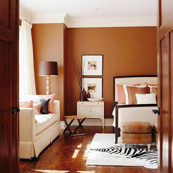 Wall Paint Colors Brown Photo   8