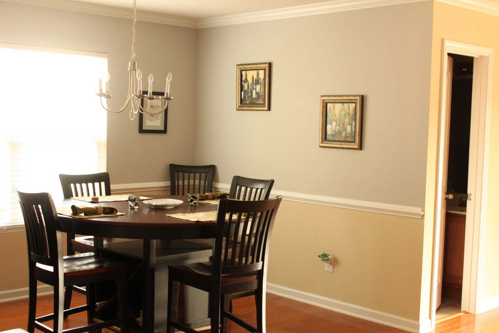 wall paint colors for dining rooms photo - 1