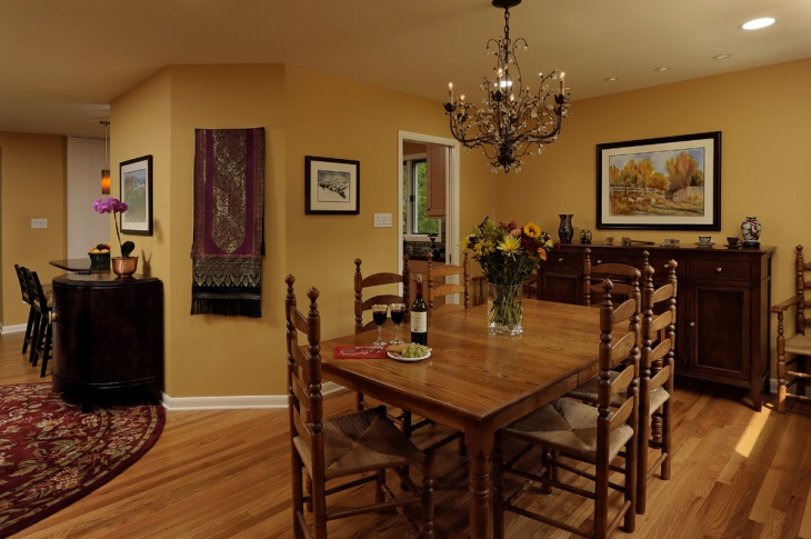 Charmant Wall Paint Colors For Dining Rooms Photo   4
