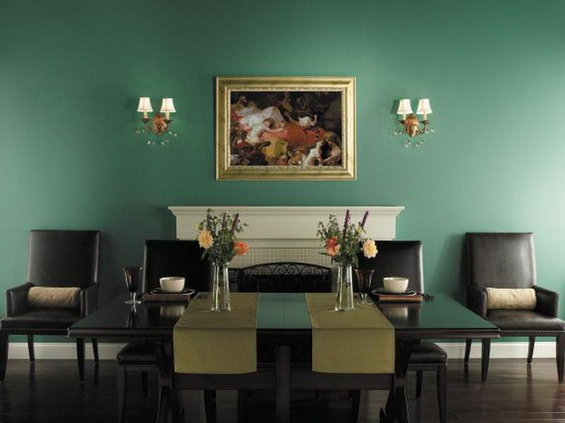 wall paint colors for dining rooms photo - 5
