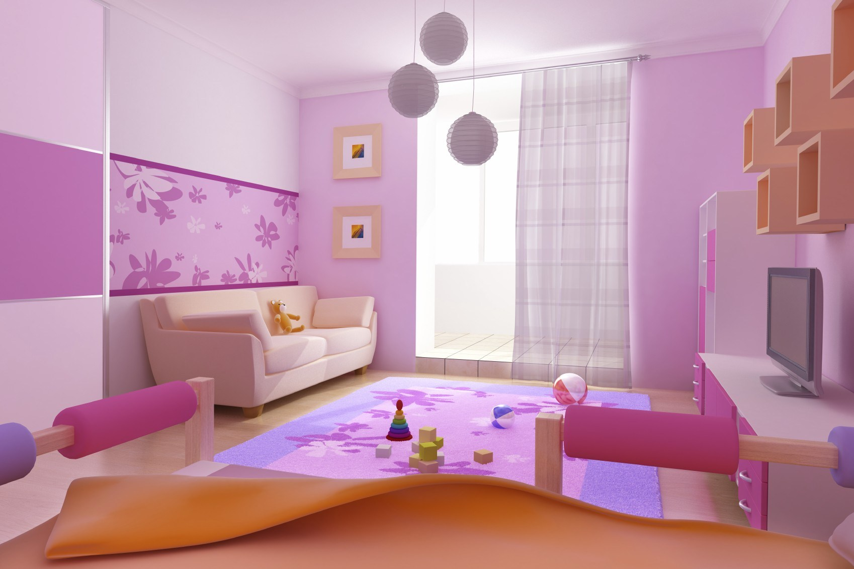 wall paint colors for kids room photo - 3