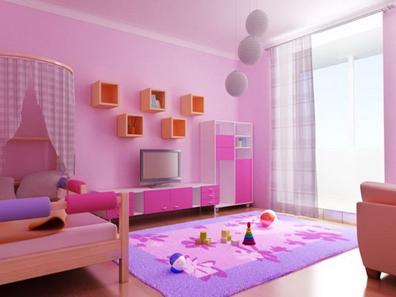 wall paint colors for kids room photo - 5