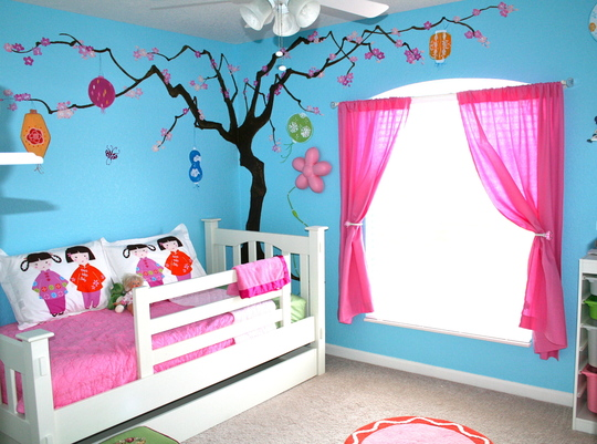 wall paint colors for kids room photo - 7
