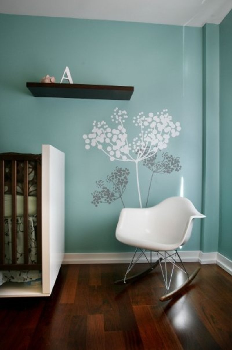 wall paint colors for nursery photo - 2