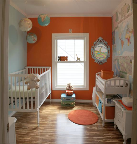 wall paint colors for nursery photo - 8