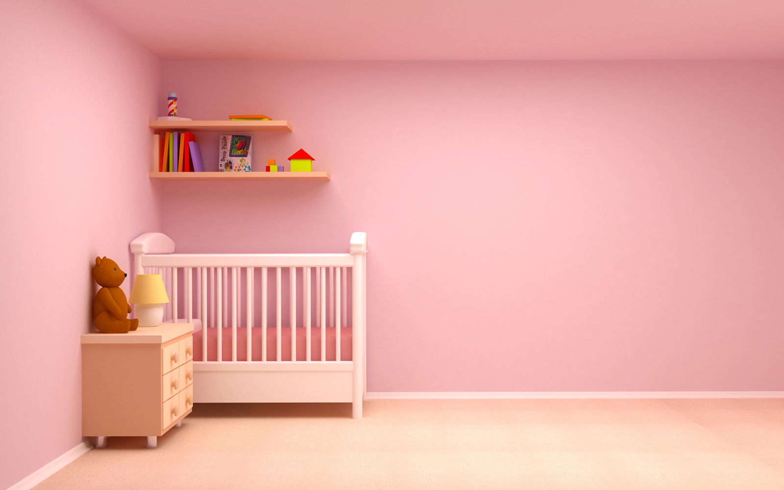 wall paint colors for nursery photo - 9
