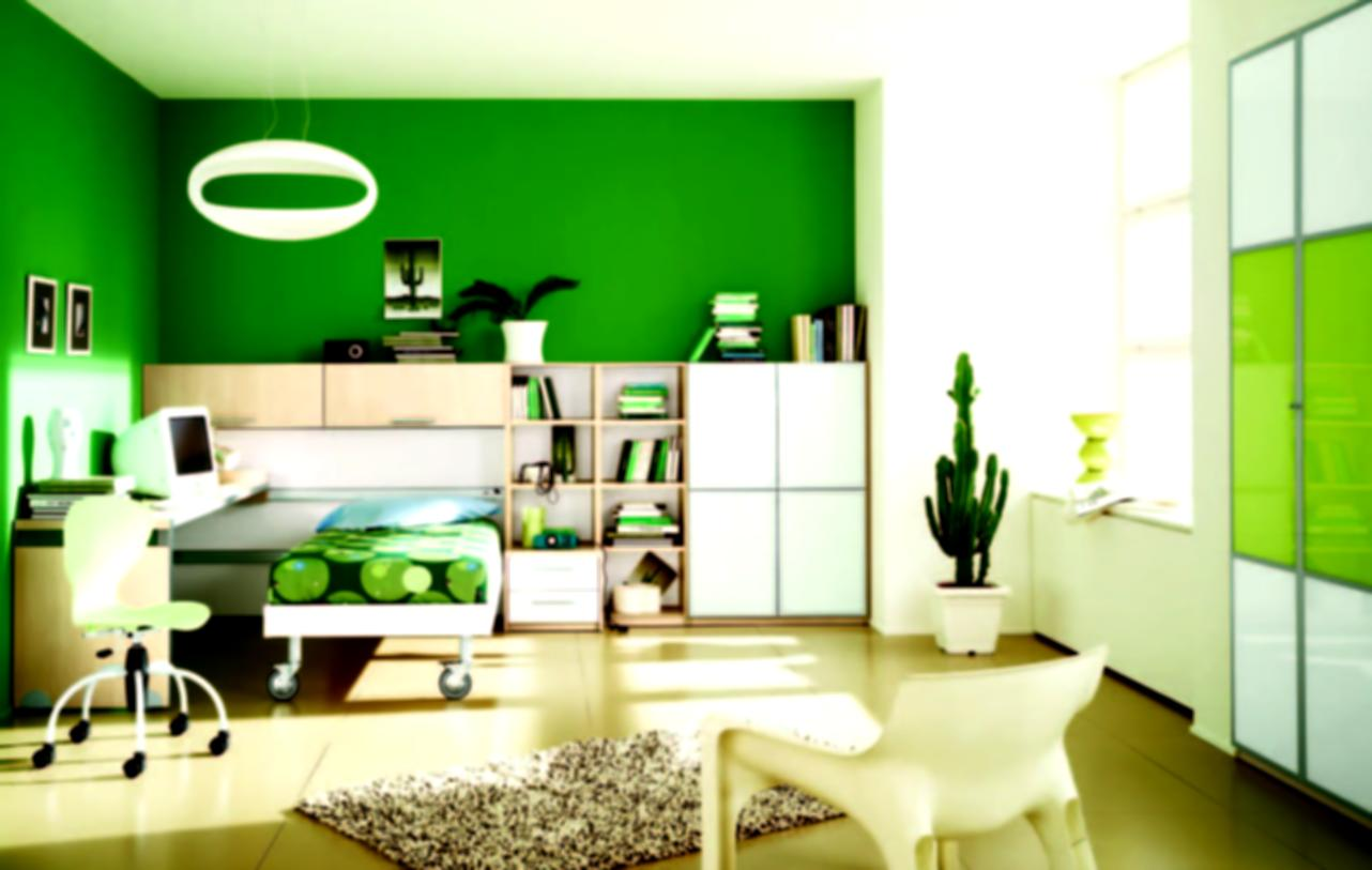 wall paint colors green photo - 10
