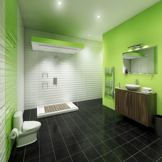 wall paint colors green photo - 2