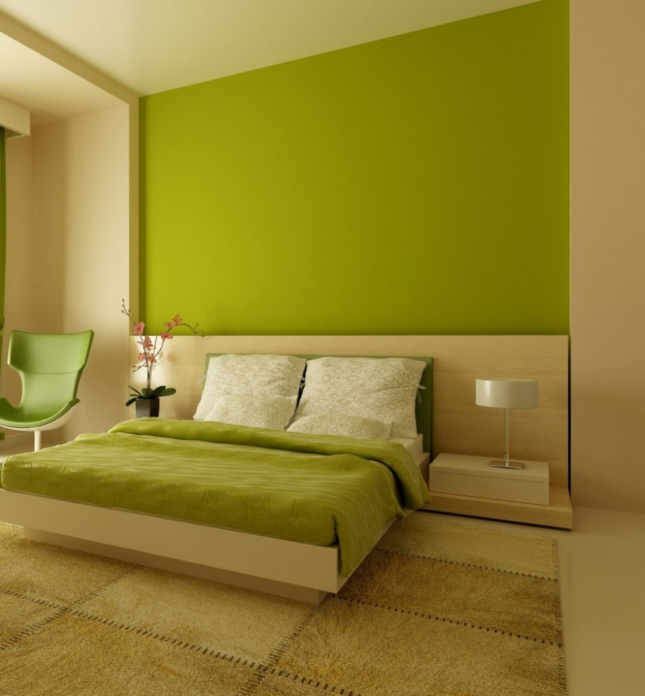 wall paint colors green photo - 6