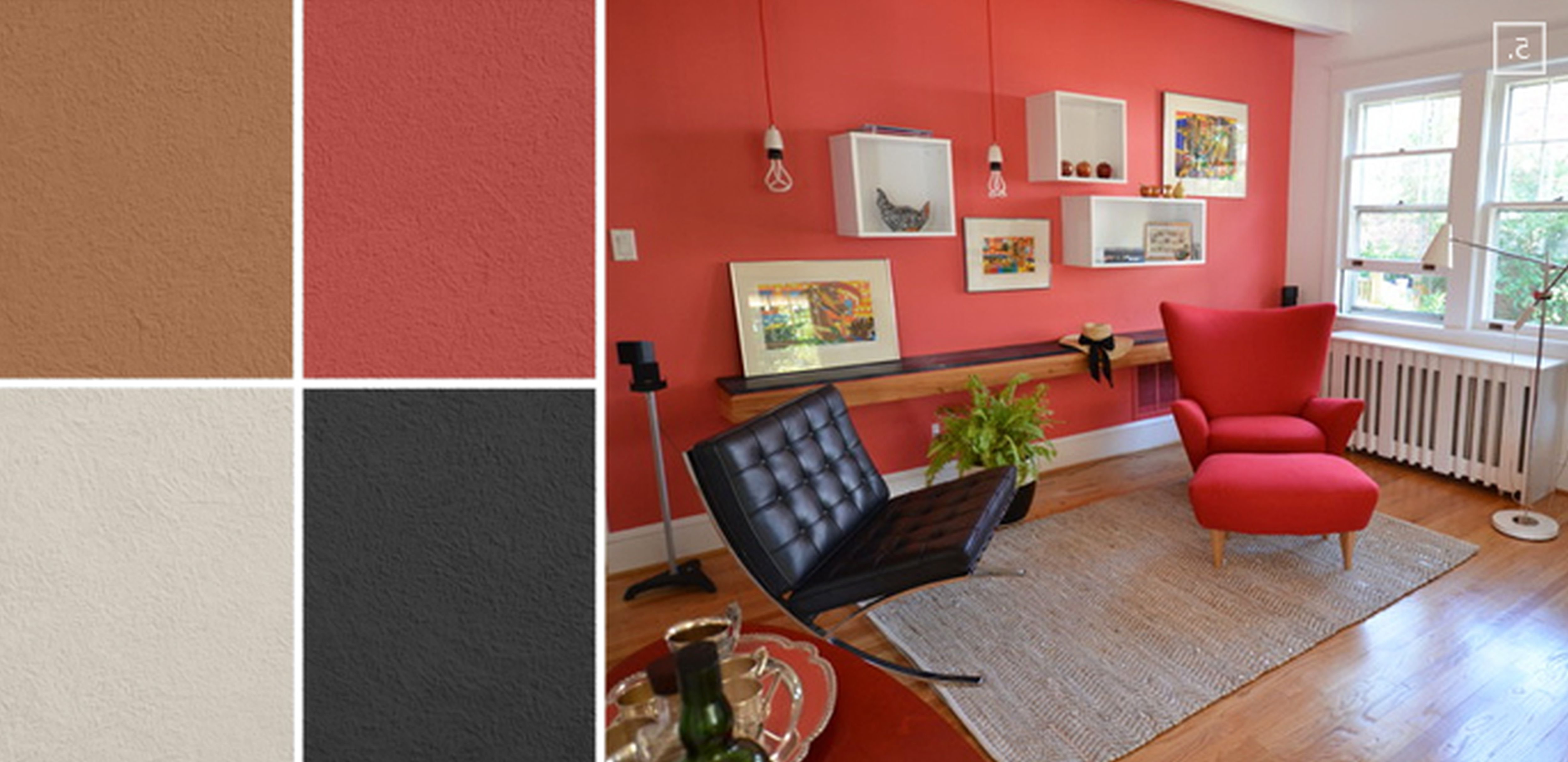 wall paint colors matching photo - 10