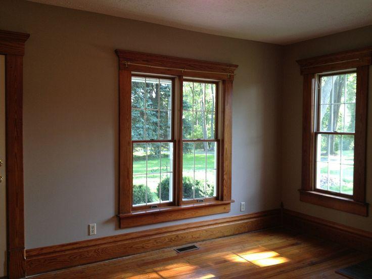 wall paint colors with oak trim photo - 10