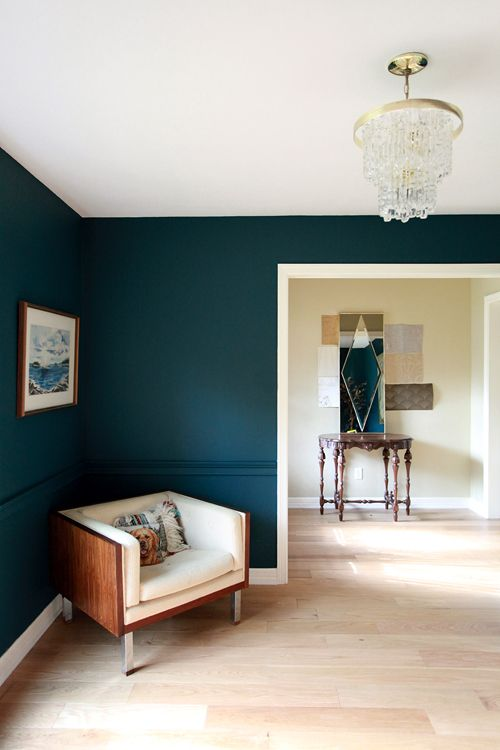 wall paint dark colors photo - 5
