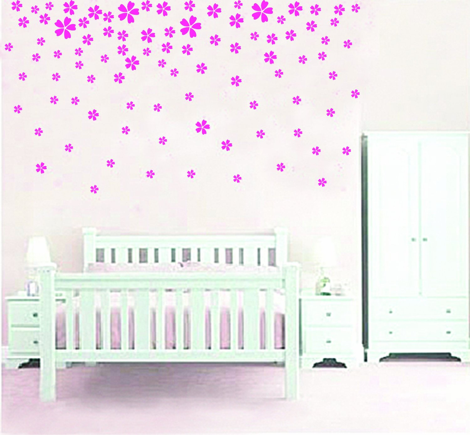 wall stickers flowers photo - 1