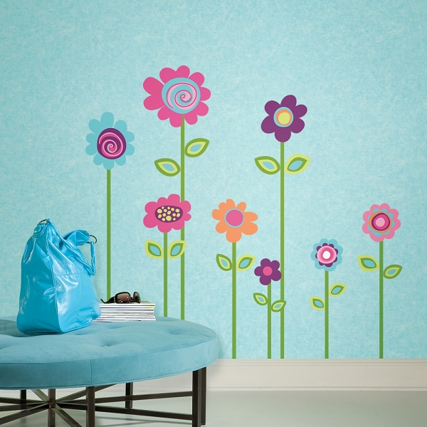 wall stickers flowers photo - 10