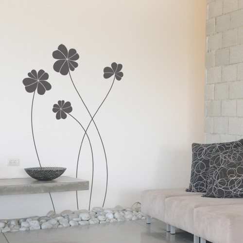 wall stickers flowers photo - 8