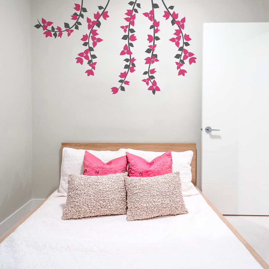 wall stickers flowers photo - 9