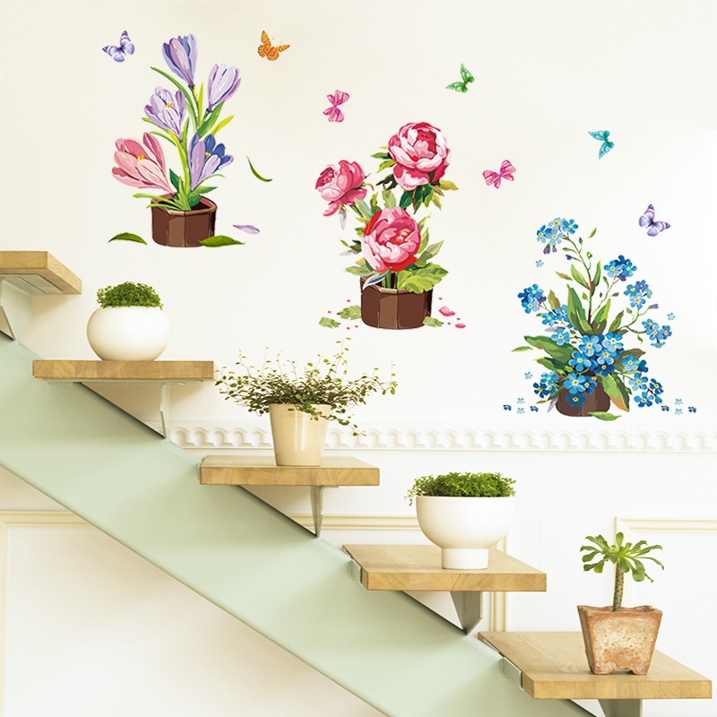 wall stickers flowers kids photo - 2