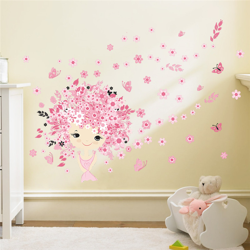 wall stickers flowers kids photo - 8