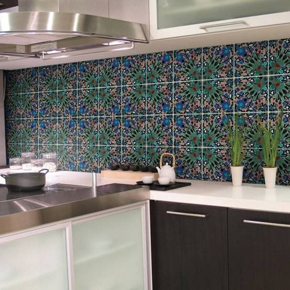 wall tile designs for kitchens photo - 8