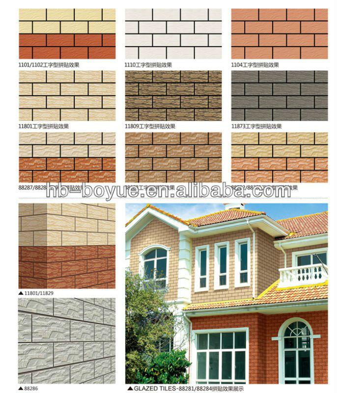 wall tiles design for exterior photo - 7