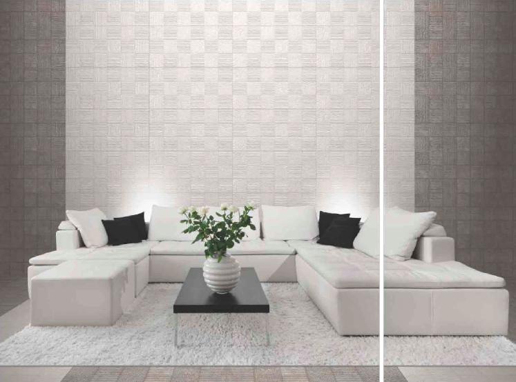 wall tiles designs living room photo - 10