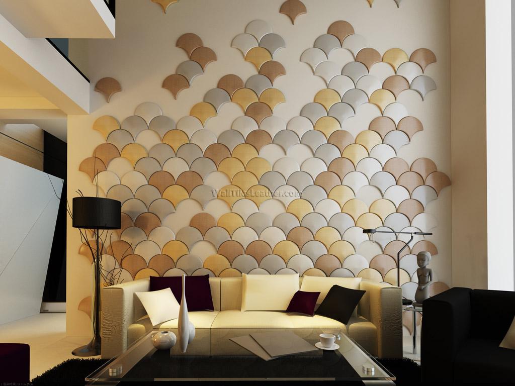 wall tiles designs living room photo - 2