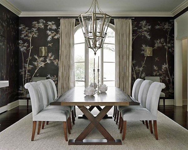 wallpaper for dining room photo - 4