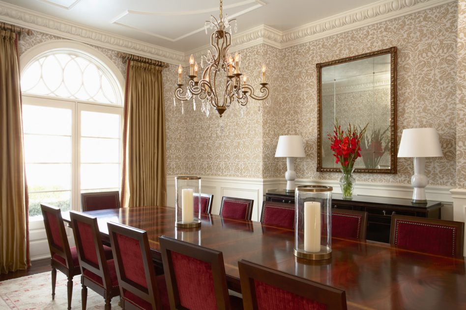 wallpaper for dining room photo - 7