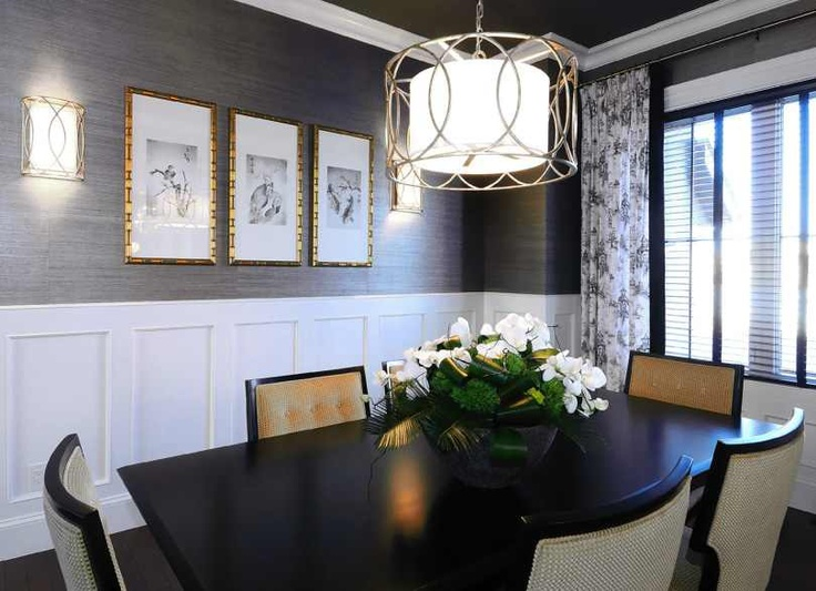 wallpaper for dining room modern photo - 5