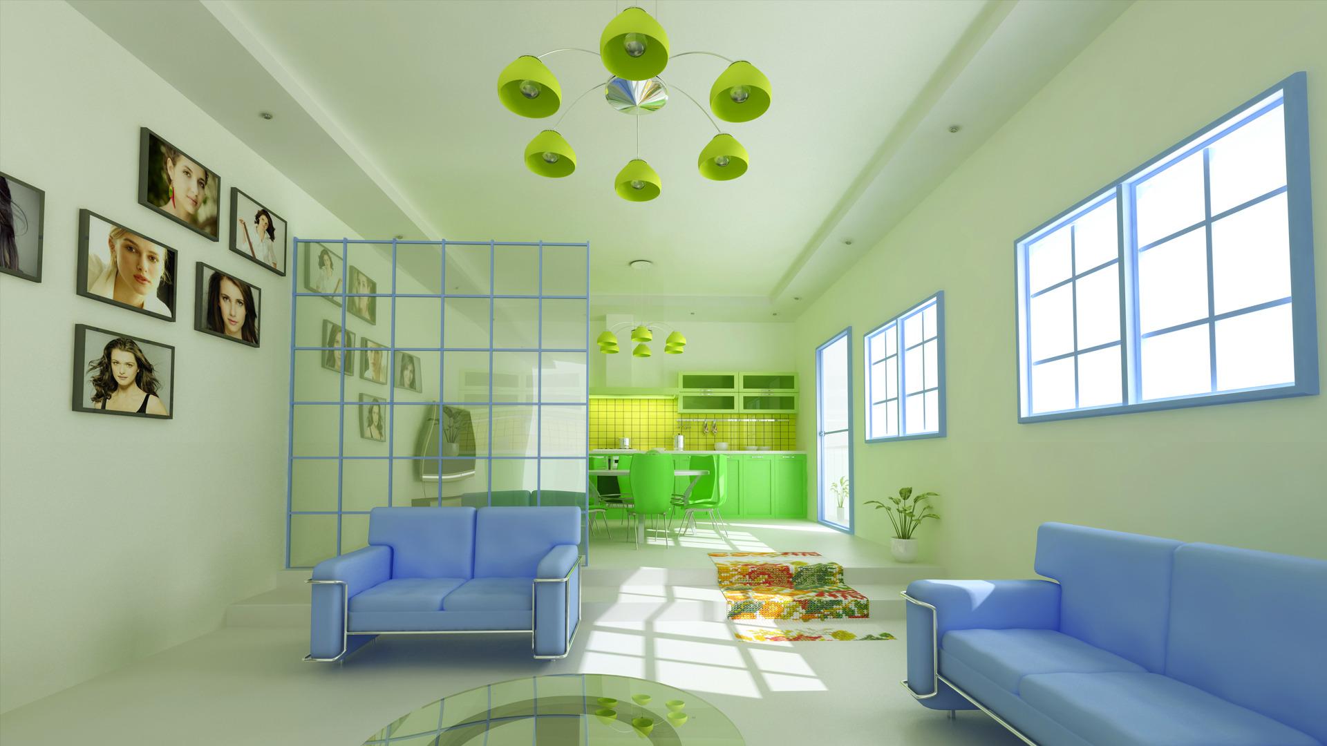 wallpaper interior design hd photo - 4