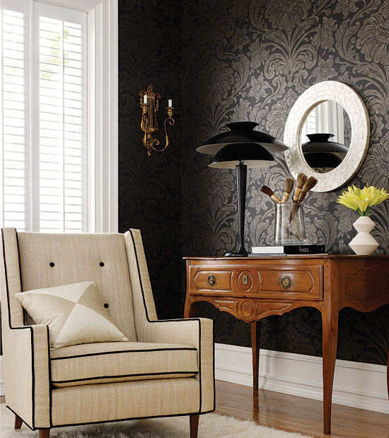 wallpaper interior design ideas photo - 2